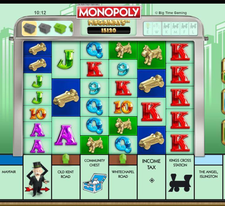 Monopoly Megaways -peli