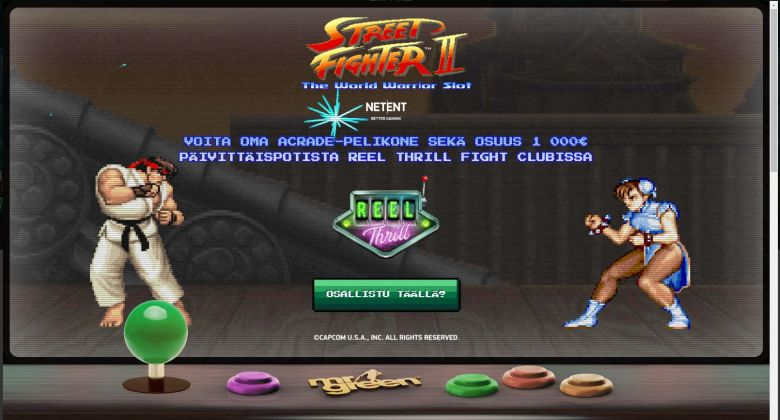 Mr Green ja oma Arcade-pelikone